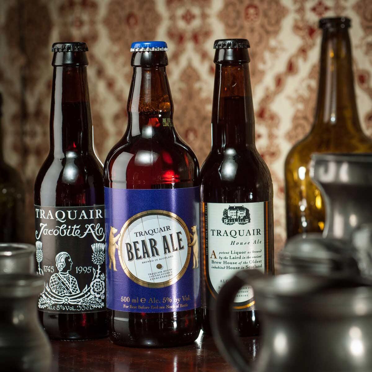 Portrait de famille. Les nobles bières de Traquair House Brewery