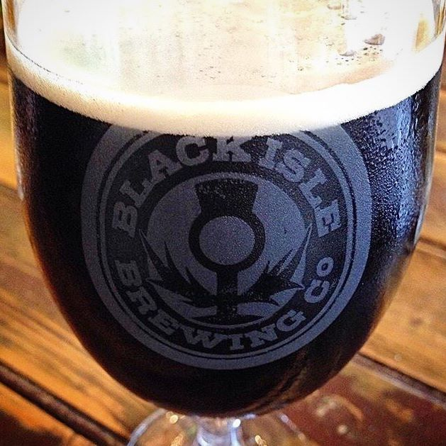 In a mouth-watering close-up : un magnifique Systems Theory stout impérial de Black Isle Brewing Co Ltd